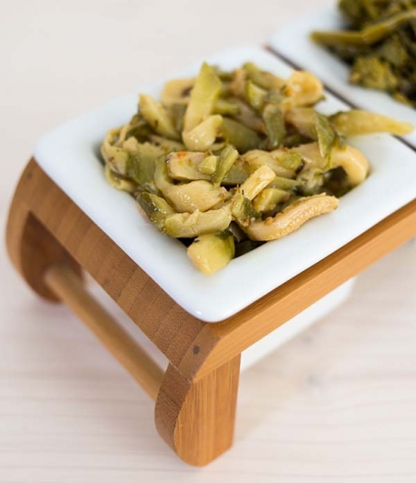 Mediterranean courgettes in extra virgin olive oil