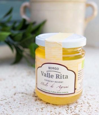 Organic citrus honey Valle...